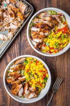 Syn Free Chicken Kebab Slimming World 1 Healthy Eating Recipes, Low Carb Recipes, Cooking Recipes, Healthy Food, Low Carb Breakfast, Slimming World Recipes, Syn Free, Lunches And Dinners, Meal Prep
