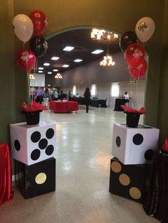 Casino themed Birthday Party Ideas | Photo 1 of 11