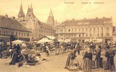 Piata Traian sau Hauplatz Old Town, Romania, Paris Skyline, Louvre, Places, Dan, Pictures, Travel, Vintage