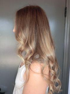 Gorgeous Long light brown/ blonde soft curls
