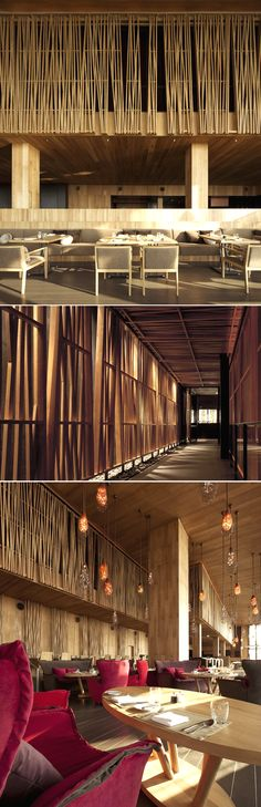 hotel lobby Edge_Hilton Pattaya_Department of Architecture Lobby Design, Design Hotel, Interior Modern, Interior And Exterior, Modern Luxury, Restaurant Hotel, Restaurant Design, Bamboo Architecture, Interior Architecture