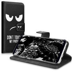 Farbe:Don't touch my Phone Weiß Schwarz