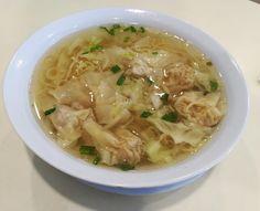 [OC] Wan ton soup noodles (3452x2803)