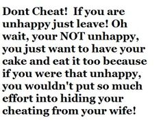 Why i let my husband cheat