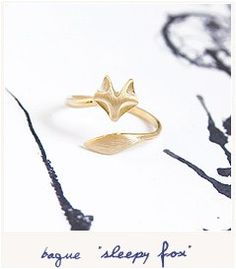Lovely ring ❤ Fox