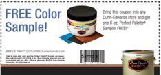 FREE Dunn-Edwards Perfect Palette Paint Sampler on http://hunt4freebies.com