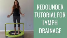 DIY Rebounder Workout Tutorial for Lymphatic Drainage & Cellulite Reduction Weight Loss Workout Plan, Weight Loss Program, Weight Loss Motivation, Health Motivation, Motivation Quotes, Quick Weight Loss Tips, Weight Loss Help, Lose Weight, Reduce Weight