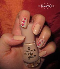 romantic roses - Nail Art Gallery by www.nailsmag.com #nailart