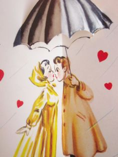Vintage Valentine's Day Greeting Card Unused by antiquelove22, $7.00