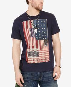 Denim & Supply Ralph Lauren Men's American Flag Graphic-Print T-Shirt