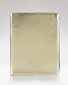 kate spade iPad Case - Gold Patent Leather