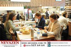 Keyifli bir akşam yemeği için Nevazen Türk Mutfağı'na bekliyoruz.  Bilgi ve Rezervasyon İçin Tel: 0216 527 64 64 www.nevazen.com.tr