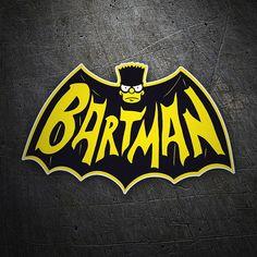 Pegatinas: Bartman #friki #TeleAdhesivo