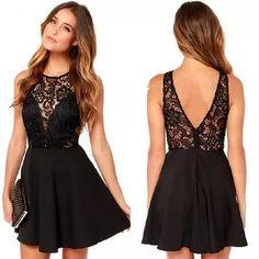 vestidos  fiesta cortos  a medida o por talle