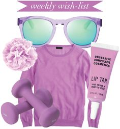 Weekly wish-list // 5 via The Girl with the Bun #coloroftheyear #pantone #radiantorchid