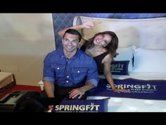 Karan Singh Grover & Bipasha Basu launches Springfit Mattresses collection. Mattresses, Product Launch, Videos, Music, Youtube, Collection, Musica, Musik, Mattress