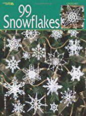 100 free crochet snowflakes patterns