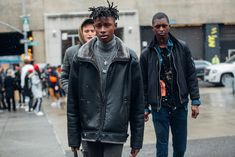 Street style Fashion Week homme automne hiver 2017 2018 New York 46