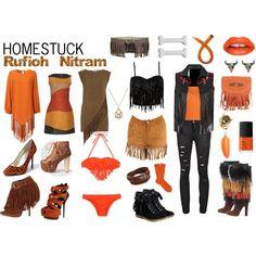 Homestuck Fashion: Rufioh Nitram by khainsaw on Polyvore