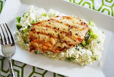 Simple Marinade Grilled Chicken 6 bone in, skin on chicken thighs lb.) Salt and pepper to taste 4 tablespoons Dijon mustard 4 tablespoons honey 3 tablespoons whole grain mustard, divided 1 teaspoon garlic, minced sprigs fresh rosemary Best Grilled Chicken Marinade, Grilled Chicken Parmesan, Healthy Cooking, Healthy Eating, Healthy Recipes, Healthy Meals, Easy Recipes, Grilling Recipes, Cooking Recipes