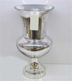 Gümüş Metal Ayaklı Dekoratif Aksesuar