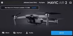 Update your new Mavic Air 2 firmware easily using the DJI Fly app and Assistant 2 software.   Also, how to update the Mavic Air Remote Controller using the DJI Assistant 2 app. Includes an excellent video tutorial