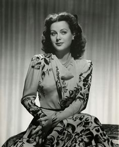 It's The Pictures That Got Small ...: THE SUNDAY GLAMOUR 15!   Hedy Lamarr
