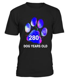 "# Awesome 280 Dog Years Old T-Shirt Funny 40th Birthday Gift .  Special Offer, not available in shops      Comes in a variety of styles and colours      Buy yours now before it is too late!      Secured payment via Visa / Mastercard / Amex / PayPal      How to place an order            Choose the model from the drop-down menu      Click on ""Buy it now""      Choose the size and the quantity      Add your delivery address and bank details      And that's it!      Tags: A funny dog lovers tee…"
