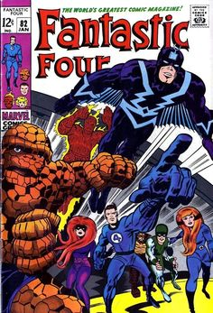 Fantastic Four #82 by Jack Kirby and Joe Sinnot