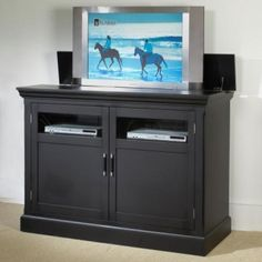 1000 images about tv lift on pinterest tvs bed with tv for Tv lift consoles for flat screens