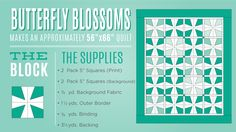Make a Butterfly Blossom Quilt with Jenny Doan of MSQC!