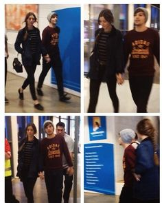 Louis and Eleanor today there so cute
