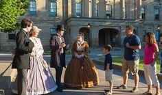 CONFEDERATION PLAYERS WALKING TOURS & HISTORICAL REENACTMENT http://www.confederationcentre.com/