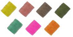 Fil C-LON Beading Cord particulièrement adapté pour la réalisation de bijoux en micro-macramé. A partir de 2,86€ >>> http://www.perlesandco.com/C_LON_Nymo_One_G_C_LON_Beading_Cord-c-139_445_483.html