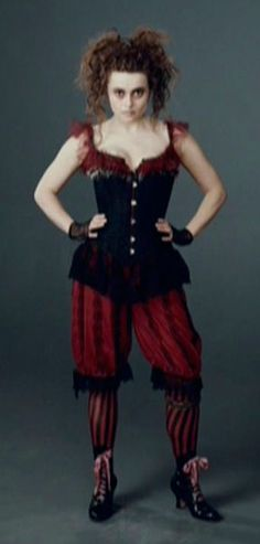 costume from sweeny todd Understandably Hbc looks creepy as here....but look a the corset, style and colour very very nice