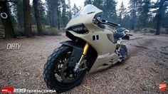 Ducati 1199 Panigale TerraCorsa Off-Road Superbike Tw 125, Ducati 1199 Panigale, Sport Bikes, Custom Bikes, Motorbikes, Offroad, Biker, Vehicles, Motorcycles