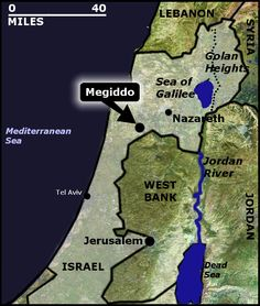 The Valley of Megiddo - The Final War of Armageddon where judgement comes to the Earth