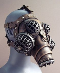 Ragnarok Gas Mask  Steampunk Leather by TomBanwell on Etsy, $425.00