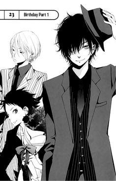 #Tonari no Kaibutsu-kun or #My Little Monster anime/manga, Haru Yoshida and guys, manga guys, anime guys, bishonen
