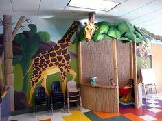 California - Lakeside Church, Folsom - classroom wall painting