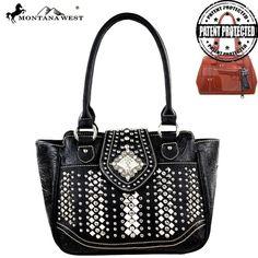 Montana West MW223G-8250 Bling Bling Concealed Carry Handbag