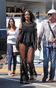 Rihanna out and about In Antibes, France