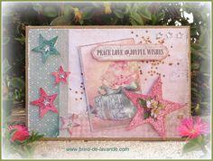 Carte Noël Shabby