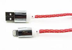 Cable Para Cargar Lightning iPhone 5 - iPhone 6 Resistente modelo 10327 -  El cable carga fácilmente en cualquier puerto USB, ya sea de un PC o utilizando de un adaptador cargador USB para las tomas de pared o de coche. Al conectarlo a un Mac o PC además de cargar su Smartphone, iPhone, iPad o iPod podrá sincronizar los datos o pasarlos de su dispositivo al ord... - http://www.vamav.es/producto/cable-para-cargar-lightning-iphone-5-iphone-6-resistente-modelo-10327