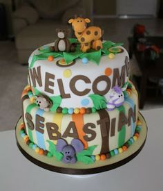 Cakes by Dusty: Welcome Baby Sebastian