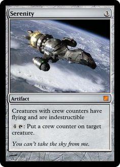 Firefly Magic Card