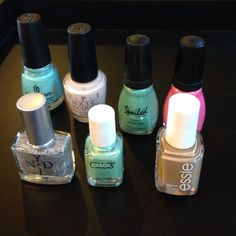SALE OPI, Essie, China Glaze Nail polish bundle Essie - case study, China Glaze - For Audrey, Spoiled - Cotton Mouth, Spoiled - Toad-ally Amazing. Not required to purchase entire bundle. OPI PICTURED IS SOLD Sephora Accessories