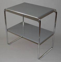 starozitny-restaurovany-odkladaci-stolek-chrom-kovona-karvina-funkcionalismus-dve-police-sede-lakovane-1.jpg (600×608)