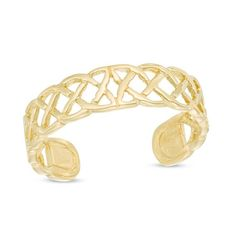Celtic Lattice Toe Ring in Gold Celtic Wedding Rings, Diamond Wedding Rings, White Gold Diamonds, Round Diamonds, Baguette Diamond Rings, Ring Set, Toe Rings, Belly Rings, Vintage Engagement Rings