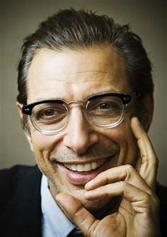 I love these glasses and Jeff Goldblum ain't so bad himself!